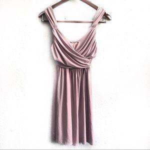 NWT ASOS Draped Sleeveless V-Neck Dress Size 2P